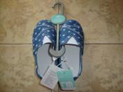 Новые, текстильные мокасины Mothercare. Размер 24.