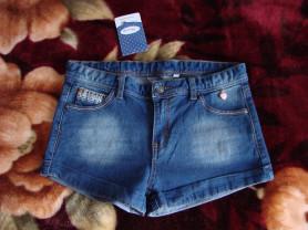 Новые джинсовые шорты Barilott, р.134-140