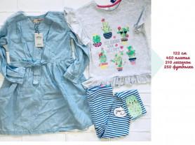 Primark платье джинсовое футболка и леггинсы Pepco