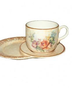 Чашка на маленьком подносе Элианто