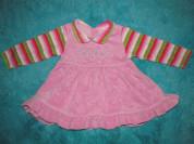 Платье велюровое 80-86