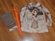 Комплект блуза, брюки и зонт Cocoland 6-7 лет