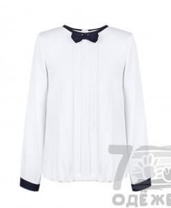 Блузка для девочки с длинным рукавом