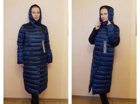 Новый зимний пуховик пальто 44 46 и 54