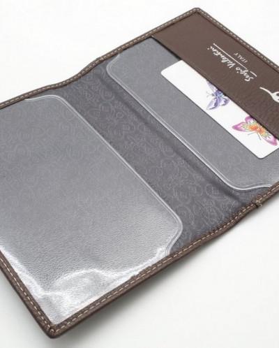 Женская кожаная обложка для паспорта Sergio Valentini СВ 803