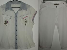 Комплект Бриджи и рубашка стрейч Marine Club 54-56