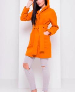 Пальто Анита 3318 (горчица) Modus