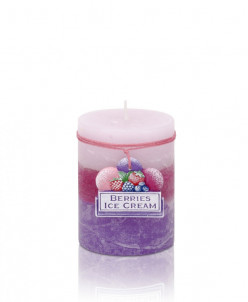 свеча Мороженое из ягод Колонна 70*90