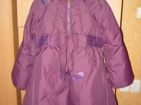 Зимнее пальто  ф. nels / нельс 128 см.
