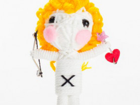 Линда - кукла, талисман, ручная работа