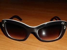 Очки солнцезащитные женские оправа лисички