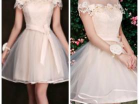 Универсальное платье для выпускного или свадьбы