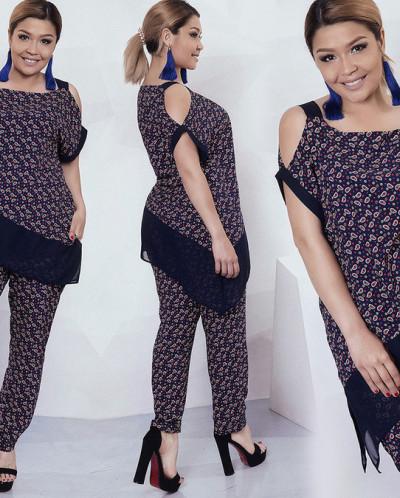 Костюм 34464 (блуза+брюки)