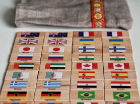 Мемори Флаги Мира в мешочке