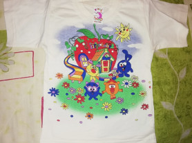 Новая футболка смешарики р. 92