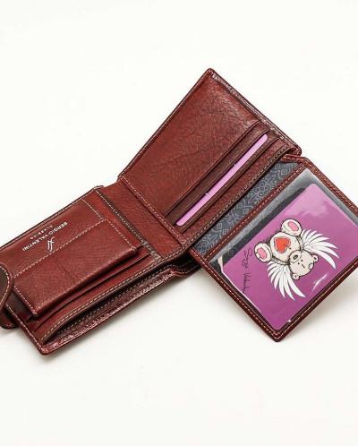 Маленький женский кожаный кошелек Sergio Valentini