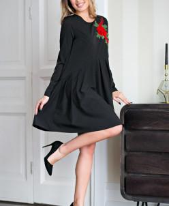 Платье Джейн цвет черный (П-122-7)