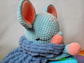 Игрушка-пижамница Мышь-Малыш, интерьерная игрушка