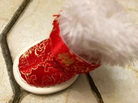 Новые зимние сапожки для собачки
