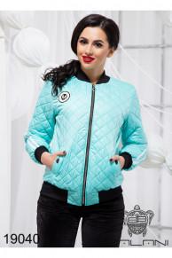 Стильная короткая куртка - 19040