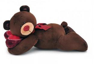 Игрушка детская мягкая Чоко-лежебока, 20 см