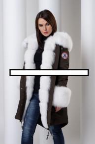 Парка с мехом Malina siberian wear 31080руб