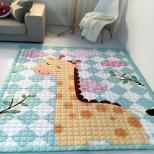 Стёганный напольный коврик