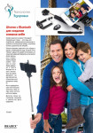 Штатив с Bluetooth для создания снимков selfie (Camera Stick