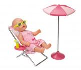 BABY BORN ZAPF CREATION Набор Солнечные ваннны