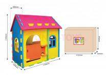 Игровой дом-конструктор