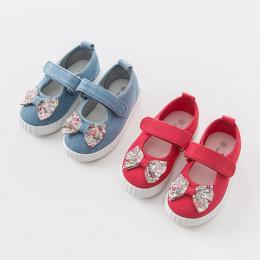 Парусиновые туфли для девочки D&B