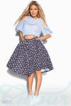 Универсальная джинсовая юбка