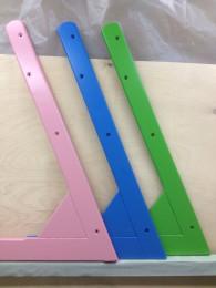 Стул Кид-Фикс - цветные расцветки (Голубой, Розовый,Зелёный)