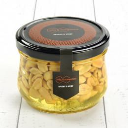 Арахис соленый в меду 240 гр.