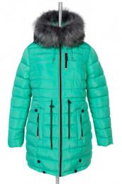 05-0575 Куртка зимняя (Синтепух 400) Плащевка Мята Куртка зи