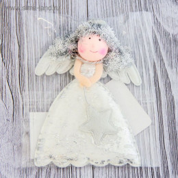 Мягкая белая кружевная 11 см девочка