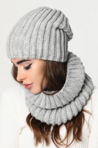 Набор шапка-шарф 31903