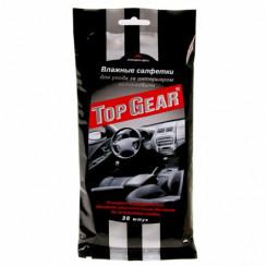 Top Gear №30 влажные салфетки для салона автомобиля (30 шт),