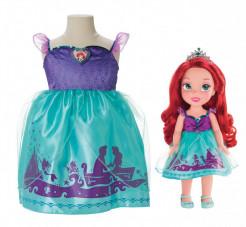 Jakks Pacific Нарядное платье для девочки + кукла Ариэль