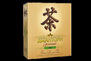 Чай Джантори Зеленый пак. 100