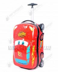 Детский чемодан В ВИДЕ МАШИНЫ (3 цвета) В*Ш*Г: 51х29х22см