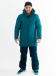 Куртка Snow Headquarter, A-8659, Тёмно-бирюзовый