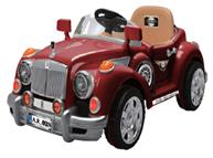 Машинка электрическая Шикарный кабриолет для деток
