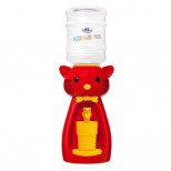 Детский кулер для воды кошка красная Акваняня