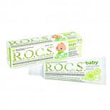 ROCS Baby Зубная паста для малышей Душистая ромашка 45г