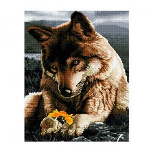 Картины мозаикой Molly Любознательный волчонок