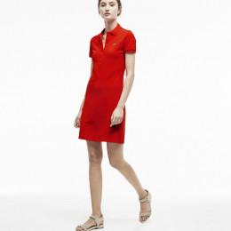 Женское платье короткий рукав Lacoste