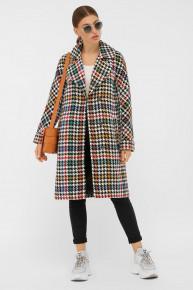 Пальто П-399-100 2434-лапка цветная p58512 от Glem
