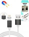 Магнитный USB IPHONE 1.2 м 2А