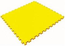 Мягкий пол универсальный 1000*1000*14 мм, желтый
